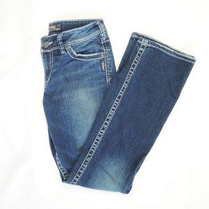 Silver Suki Jeans 27